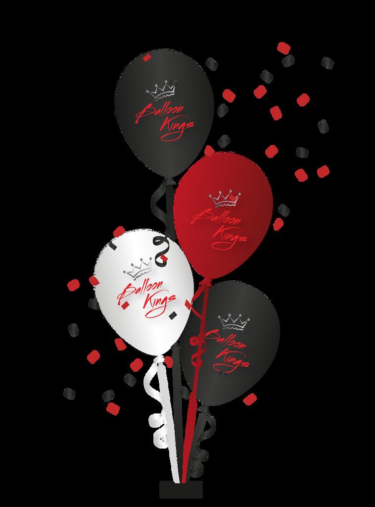 Centerpiece of 4 Balloons
