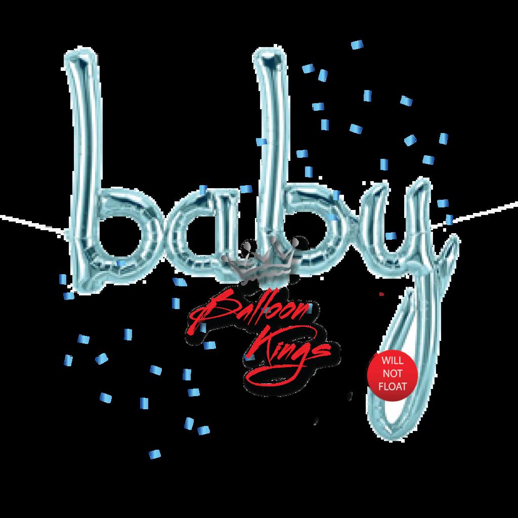 Baby Blue Script