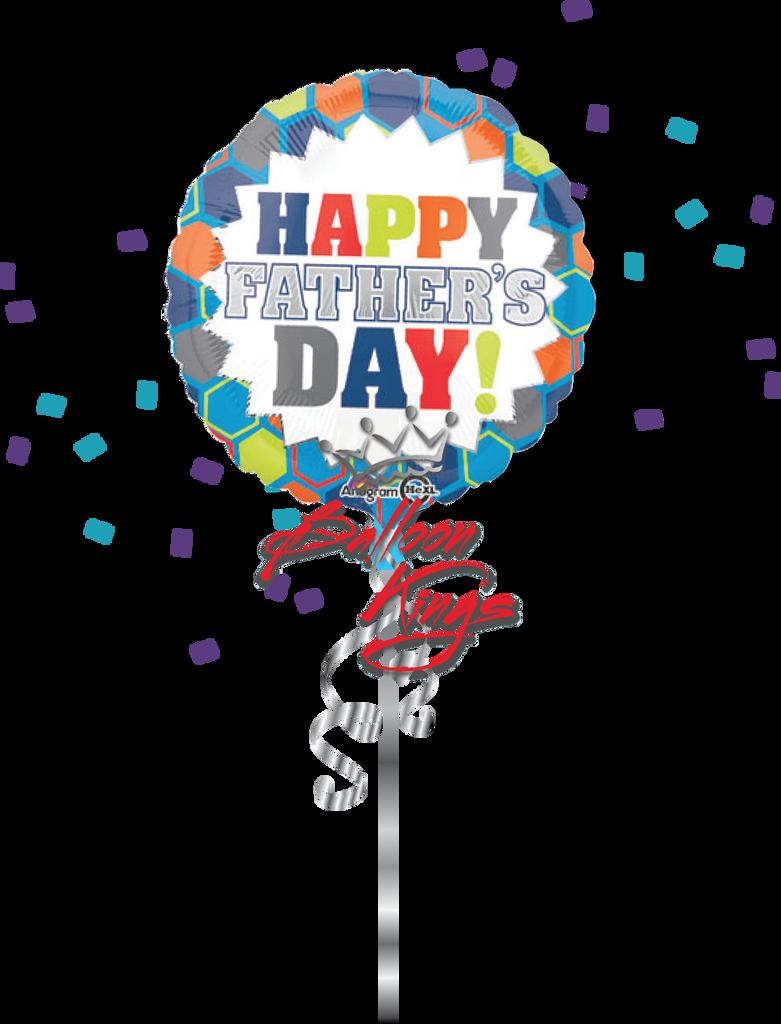 Happy Fathers Day Burst