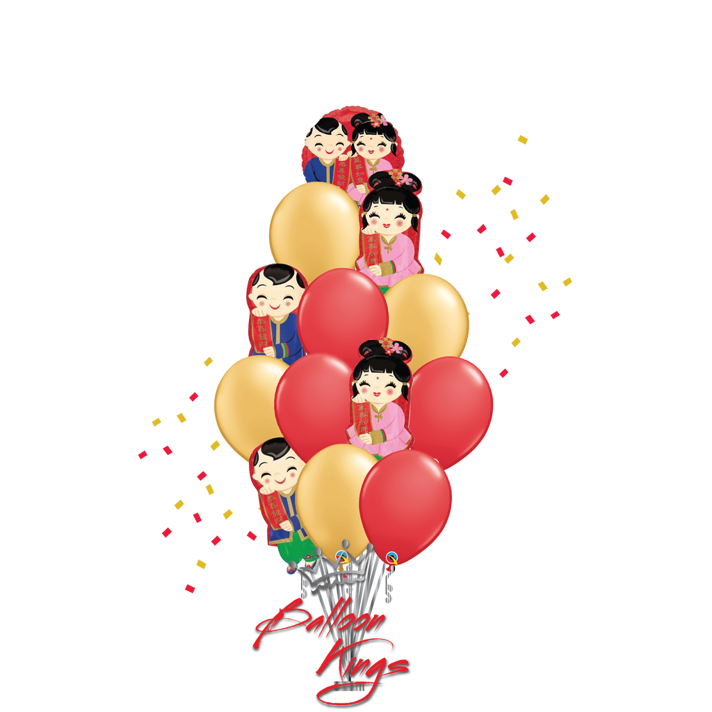 Chinese New Year Couple Bouquet