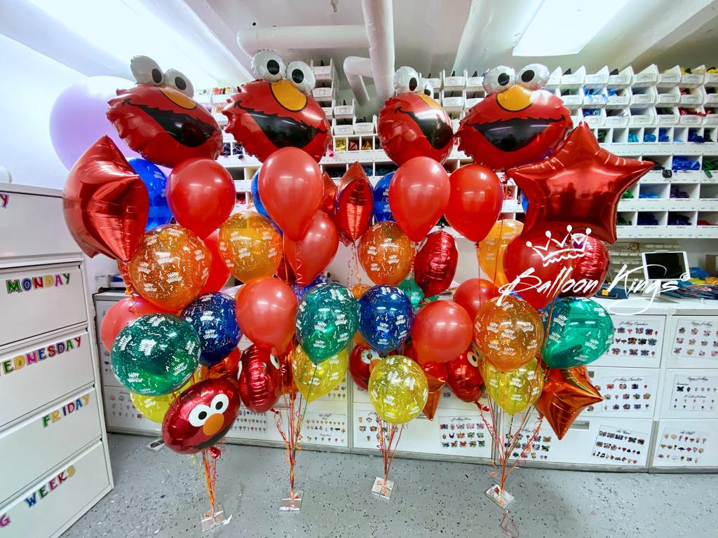 Elmo Head Bouquet