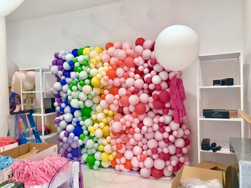 Organic Balloon Wall