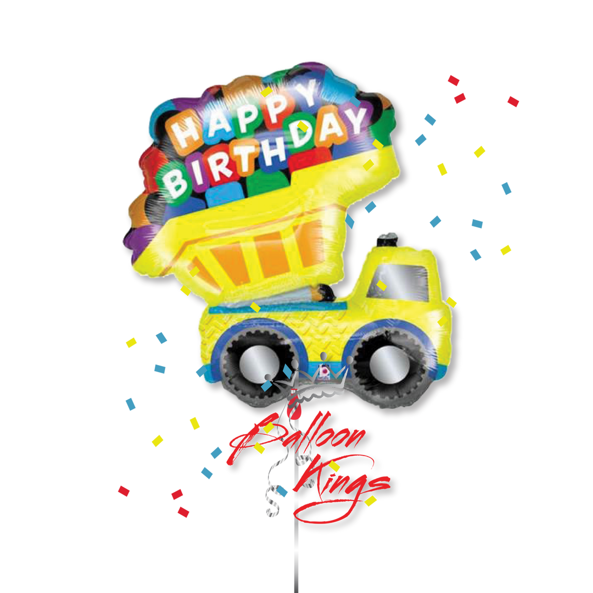 Happy Birthday Truck D
