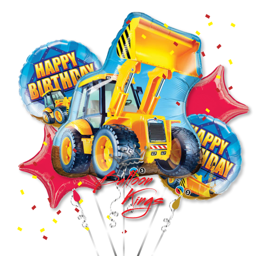 Construction Loader Bouquet