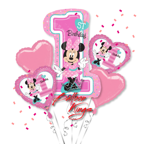 1st Birthday Minnie Mouse Bouquet