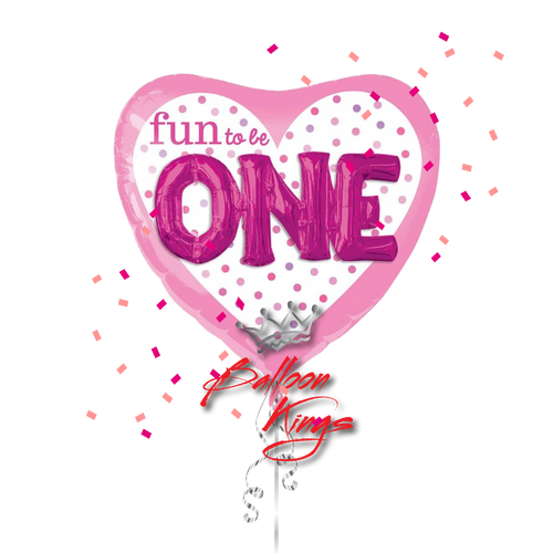 Fun To Be One Pink Heart