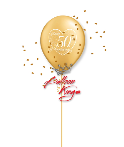 11in Latex 50th Anniversary