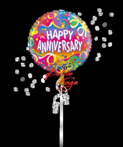 Happy Anniversary Confetti