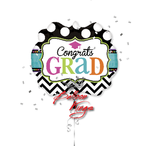 Congrats Grad Chevron Marquee