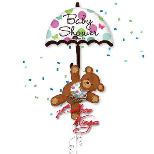 Baby Shower Umbrella Bear