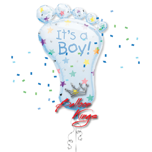 Its A Boy Foot