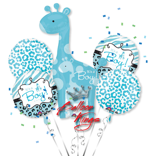 Its A Boy Giraffe Bouquet