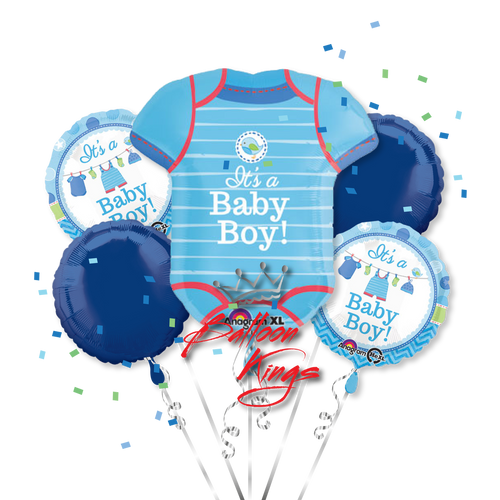 Its A Boy Onesie Bouquet