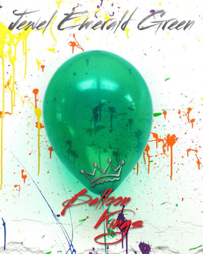 11in Jewel Emerald Green