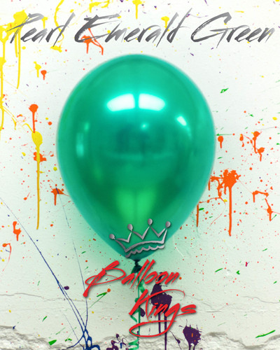 11in Pearl Emerald Green