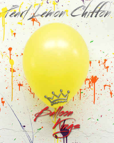 11in Pearl Lemon Chiffon