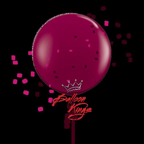 24in Jewel Burgundy