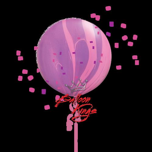 30in Superagate Pink Violet