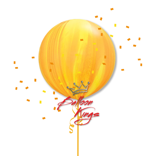 30in Superagate Yellow Orange