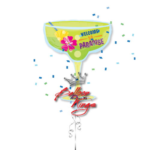 Margarita Paradise Glass