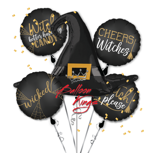 Witch Silhouette Bouquet