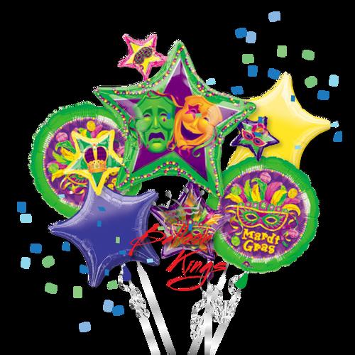 Mardi Gras Stars Bouquet