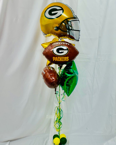 Green Bay Packers Bouquet