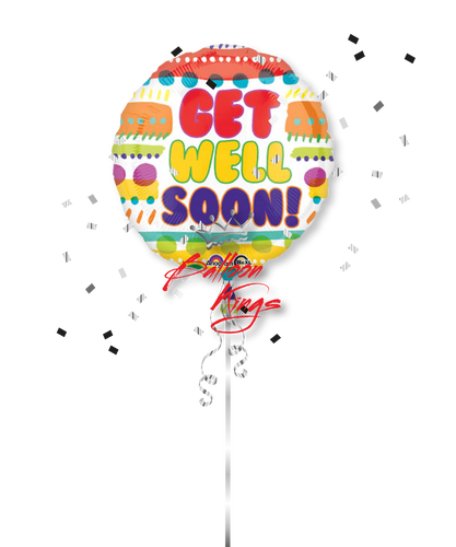 Get Well Soon Bubble Letters