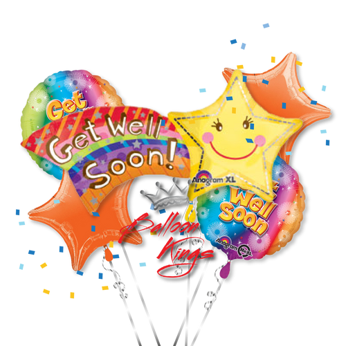 Get Well Soon Shooting Star Bouquet