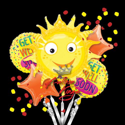 Get Well Sun Bouquet