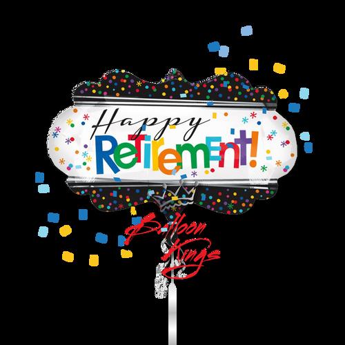 Happy Retirement Marquee