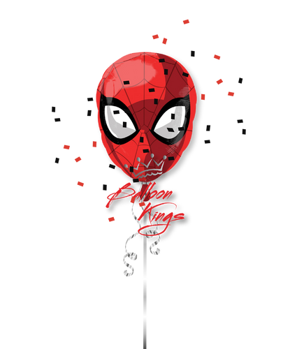 Spiderman Face Animated