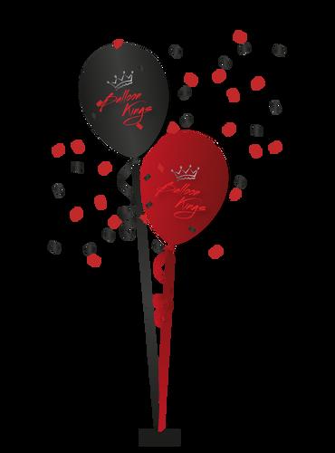 Centerpiece of 2 Balloons