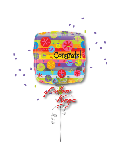 Congrats Bubble Burst (D)