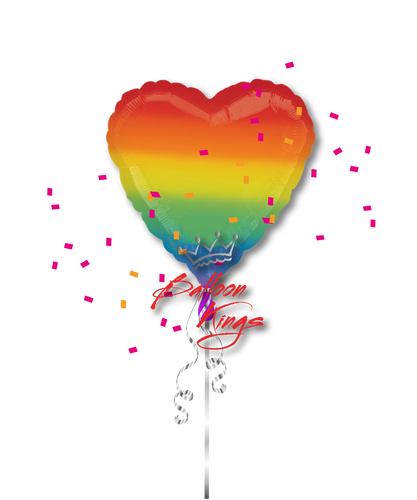 Rainbow Heart (D)