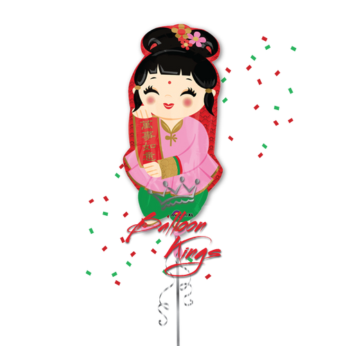 Chinese New Year Girl (D)