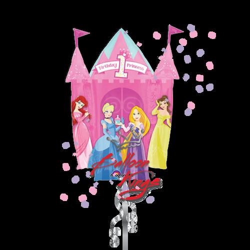 1st Birthday Princess Castle (D)