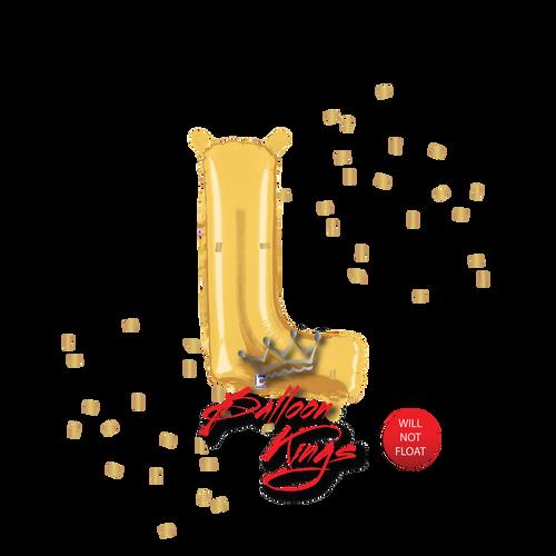 14in Gold Letter L