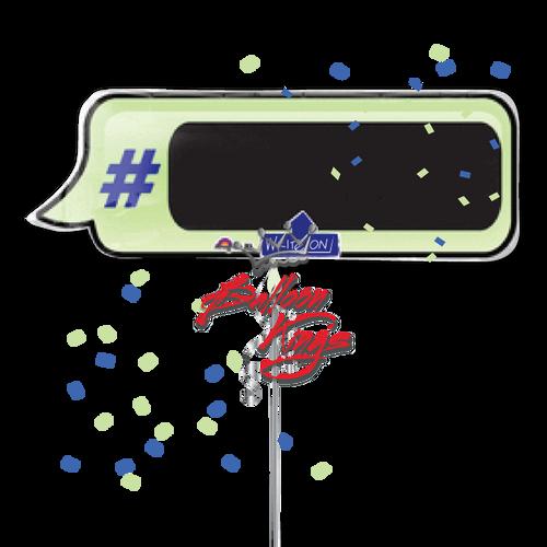 Hashtag - Write On