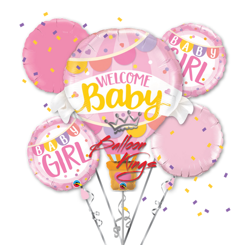 Welcome Baby Girl Bouquet