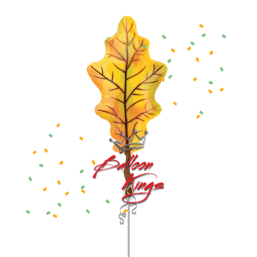 Fall Yellow Oak Leaf