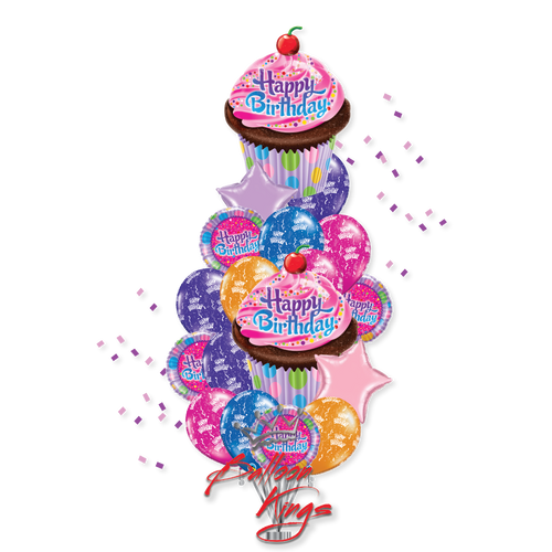 HB Double Cupcake Bouquet