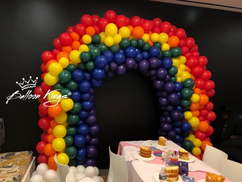 Organic Rainbow Arch