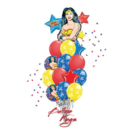 HB Wonder Woman Bouquet