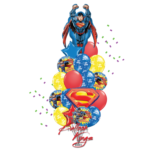 Superman Superhero Bouquet