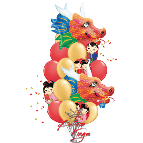 Chinese New Year Dragons Bouquet