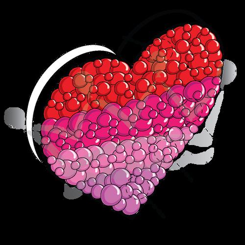 Framed Heart - 4ft