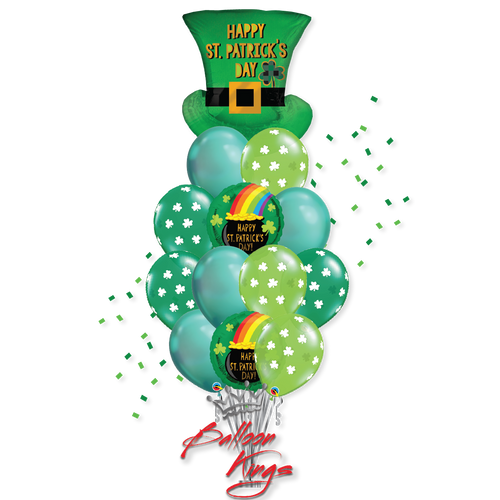 St Patricks Day Top Hat Large Bouquet