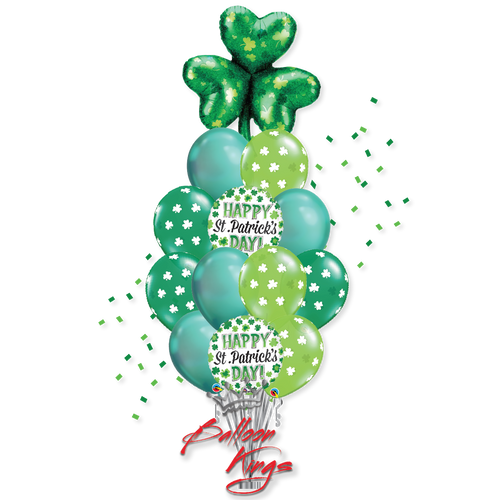 St Patricks Day Shamrocks Large Bouquet