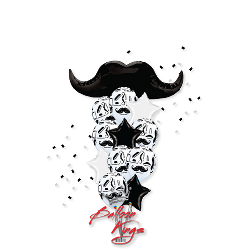 Mustache Bouquet